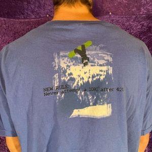 Vintage 420 Snowboarding Tee